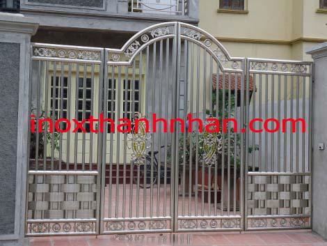 Cửa cổng inox MS - C01