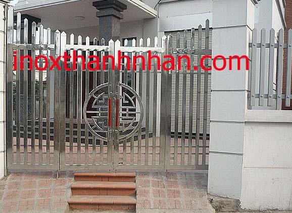 Cửa cổng inox MS - 216