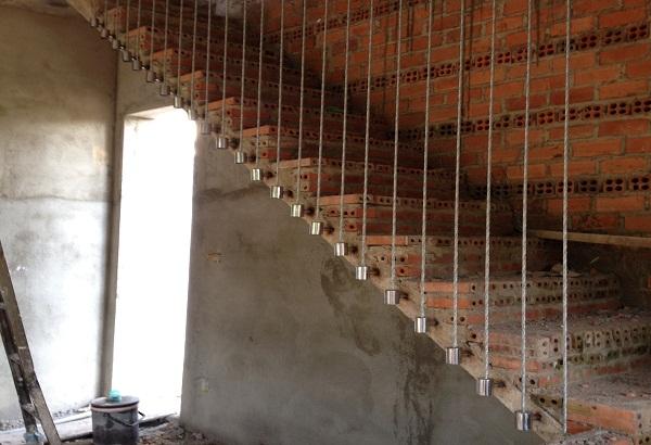 Cầu thang cáp MS - 026