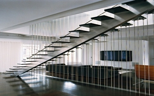 Cầu thang cáp MS - 025