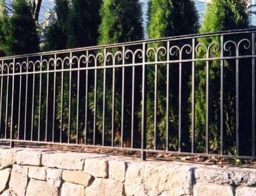 Hàng rào sắt đẹp 03N