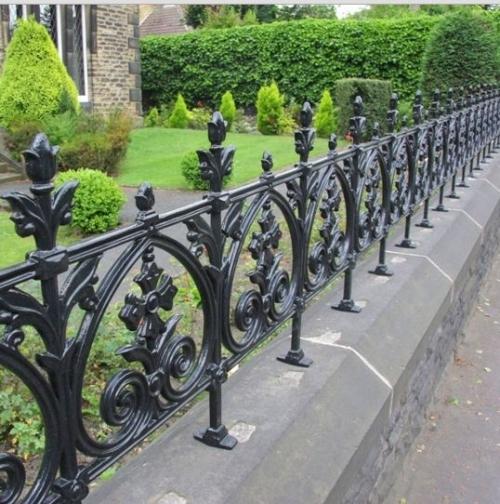 Hàng rào sắt đẹp 03C