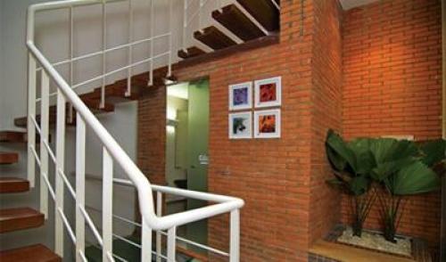 Cầu thang inox MS - 015