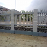 Trụ hàng rào
