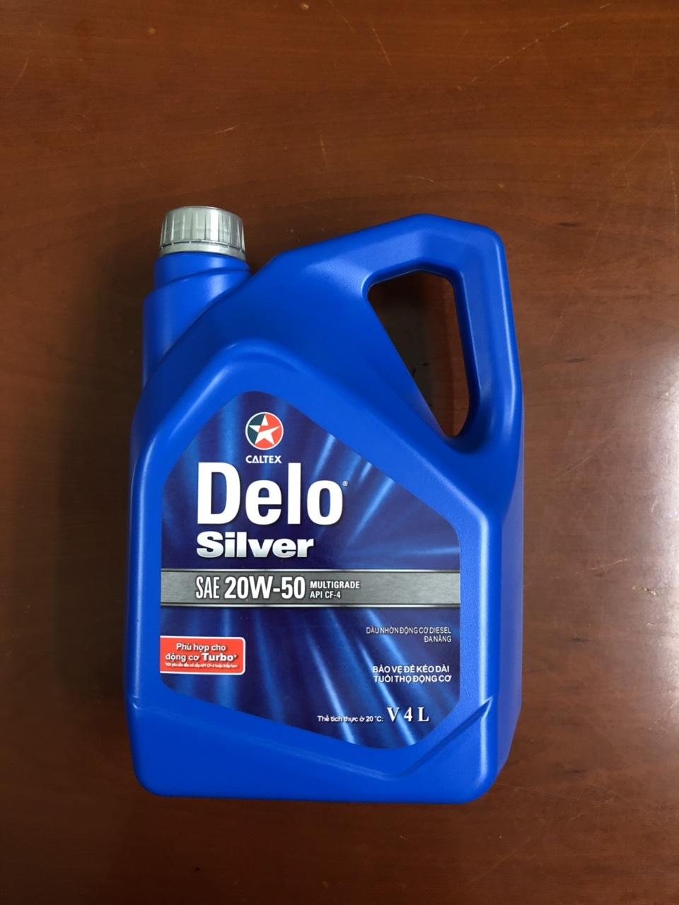 Delo silver 20w50