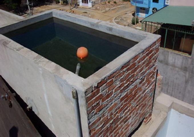 Chống thấm bể nước