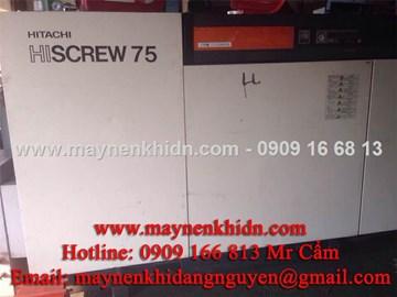 Máy nén khí trục vít Hitachi 75kw (100HP)