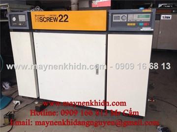 Máy nén khí trục vít Hitachi 22kw (30HP)