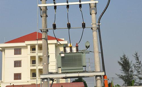 Thi công hệ thống trạm biến áp