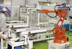 Lắp đặt dây chuyền tự động hóa sản xuất