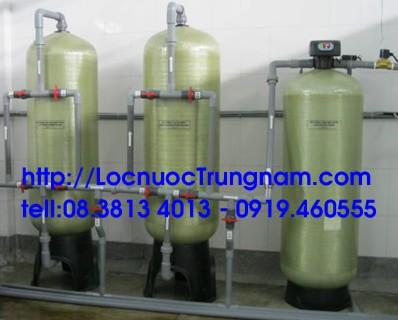 Xử lý nước giếng khoan công nghiệp
