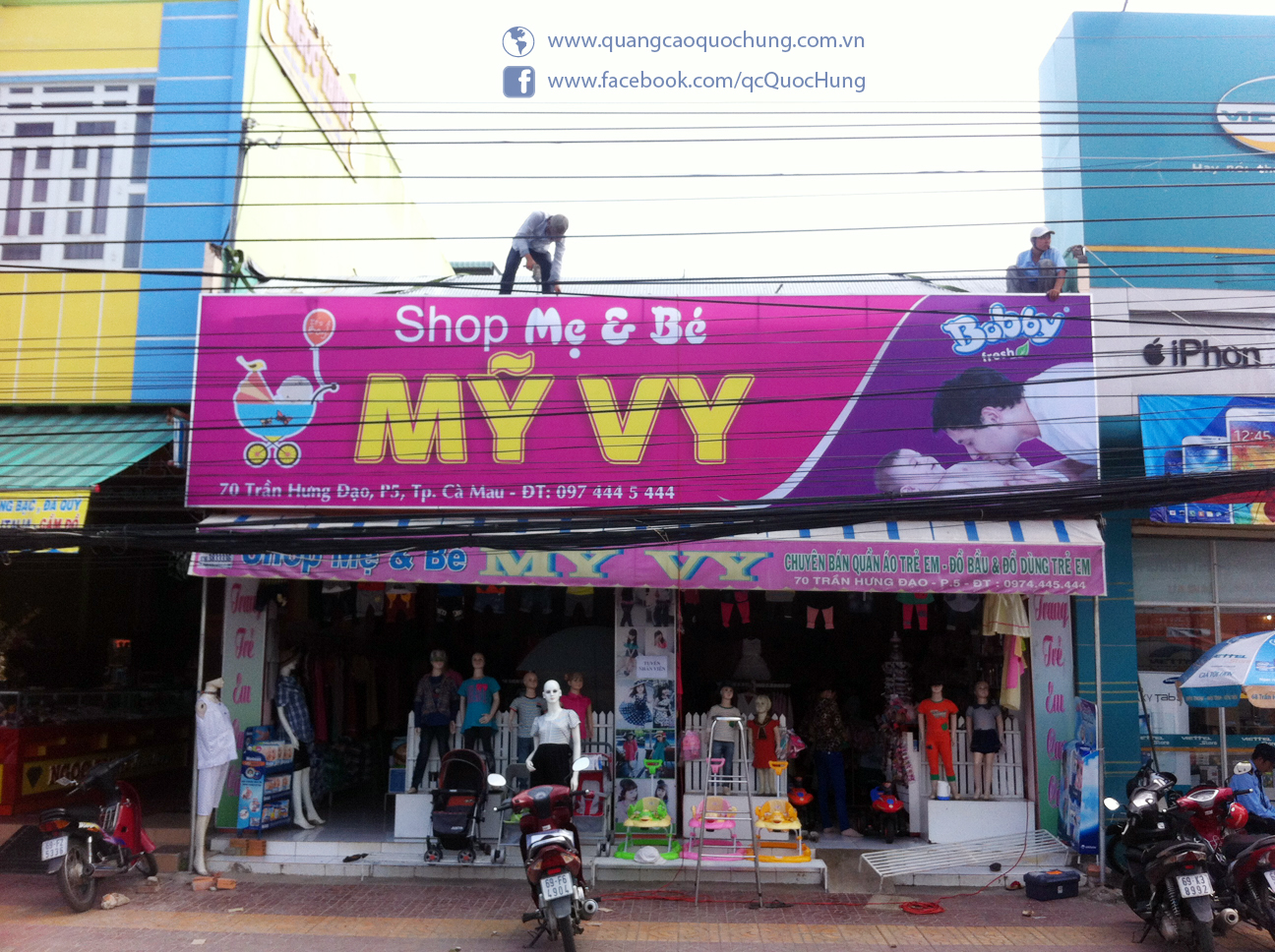 Shop Mẹ Và Bé Mỹ Vy