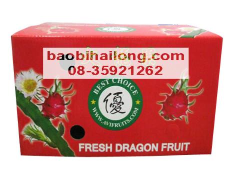 Thùng carton đựng trái cây