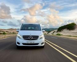 Xe du lịch Mercedes Benz 4 chỗ