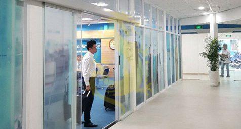 Cửa trượt tự động Cortech sân bay