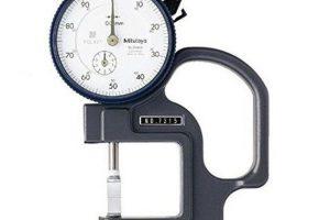 Thước đo độ dày đồng hồ