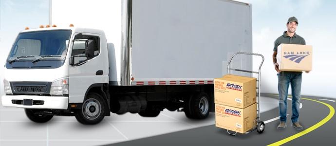 Vận tải hàng hóa nội địa bằng đường bộ