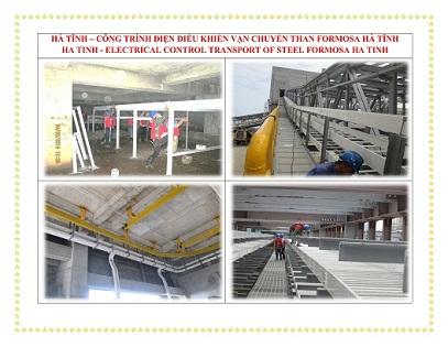 Lắp đặt hệ thống thang máng cáp