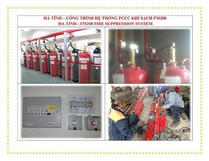 Hệ thống pccc khí sạch FM200