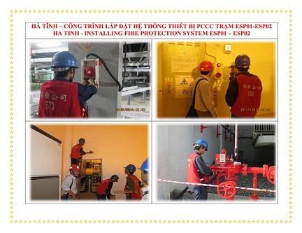 Hệ thống chữa cháy trạm biến áp
