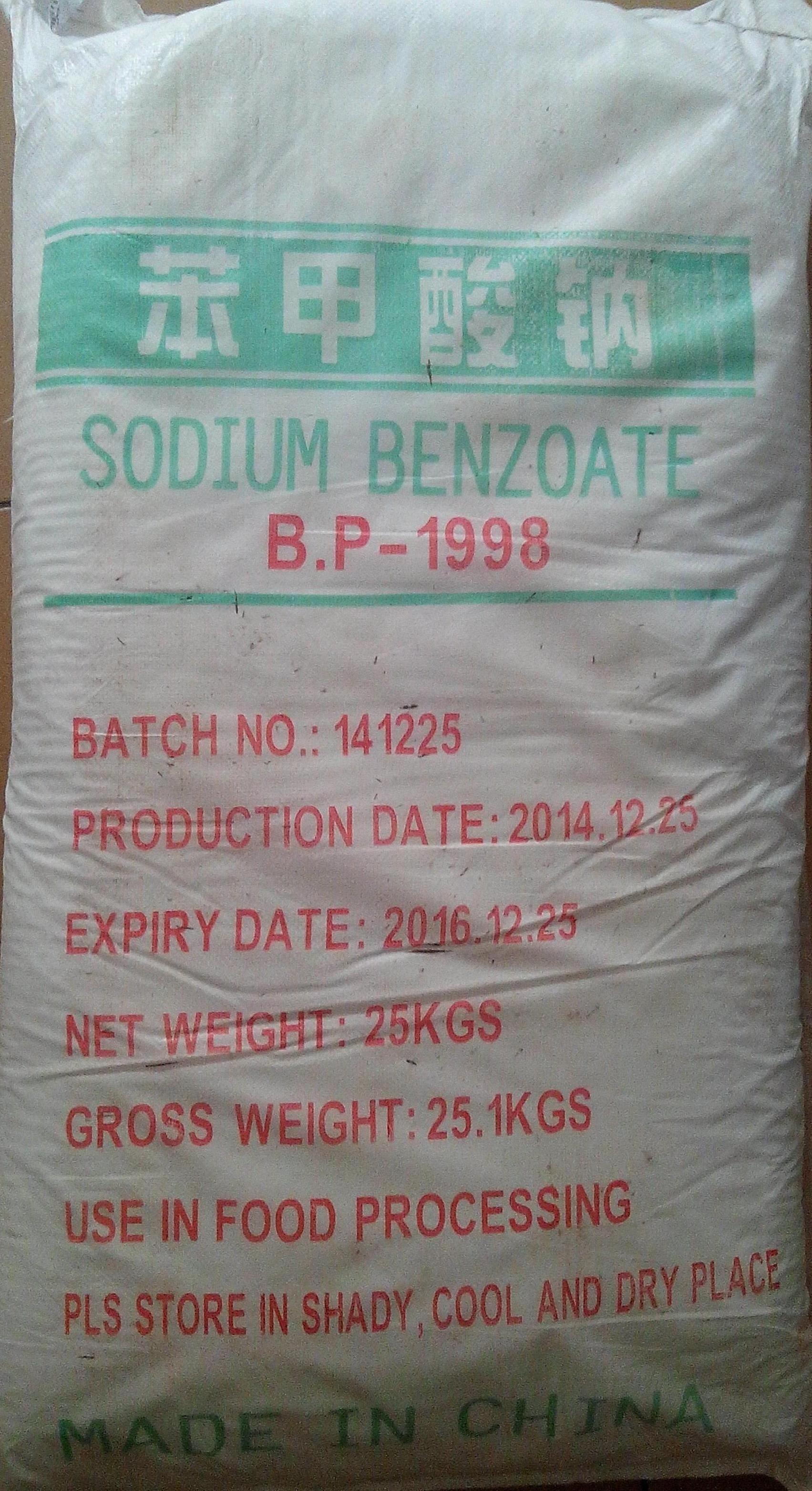 Hóa chất Sodium benzoate