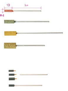 Mounted Points with 3-mm Shank (Long Shank)