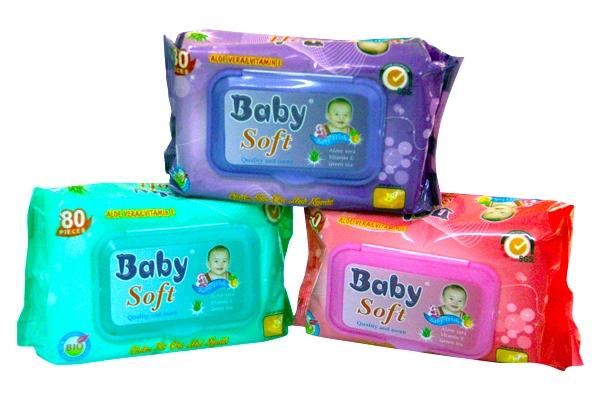 Khăn ướt Baby Soft