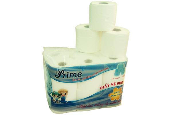 Giấy vệ sinh 12 cuộn Prime