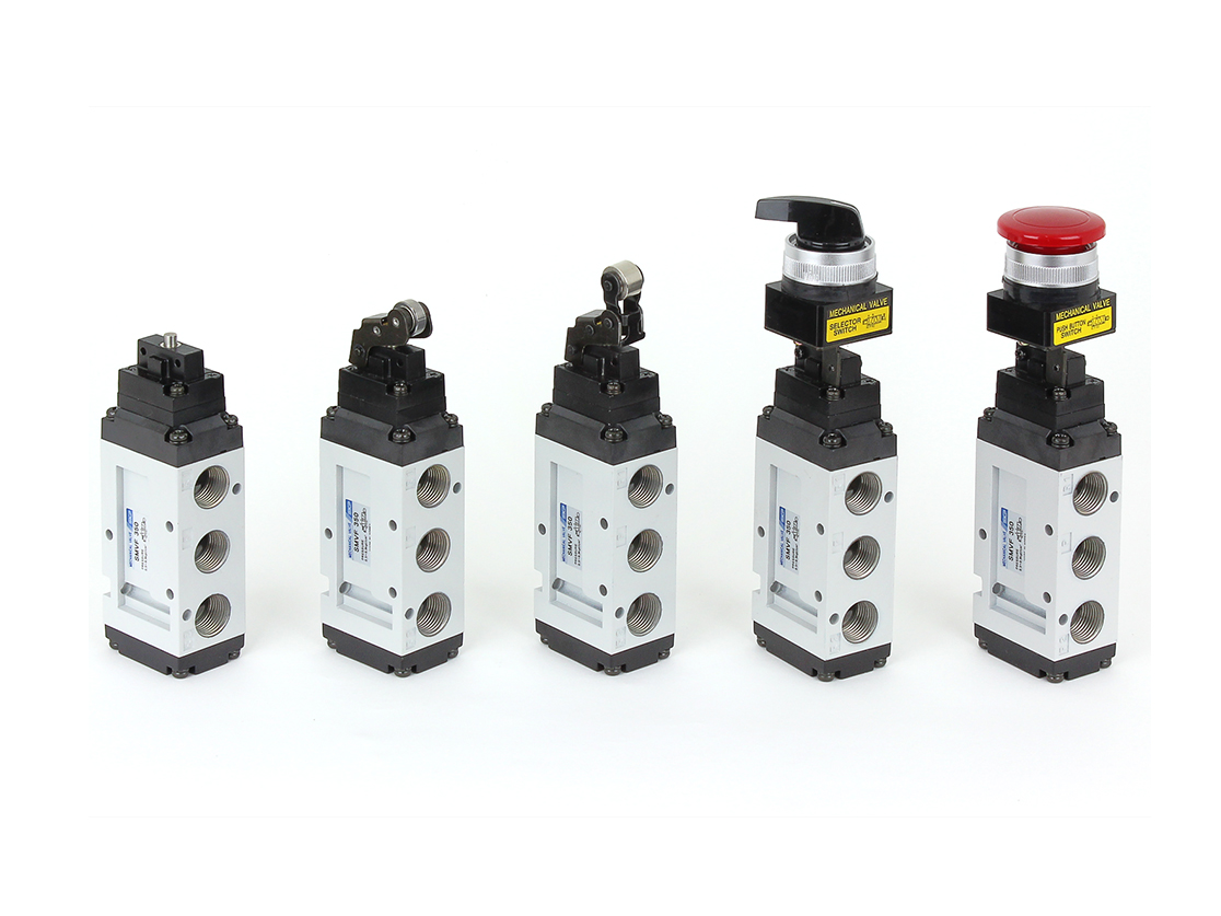 5port Pilot type Mechanical Valve (SMVF250 Series)