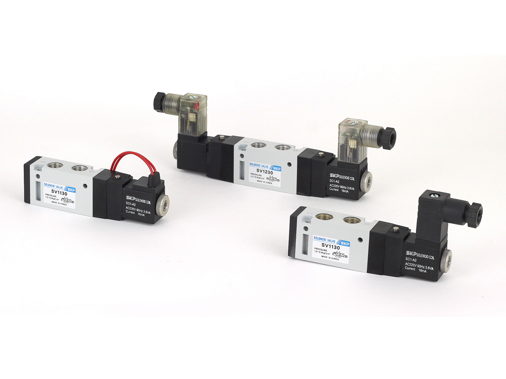 5port Pilot Operated Solenoid Valve (SV1000 Series)