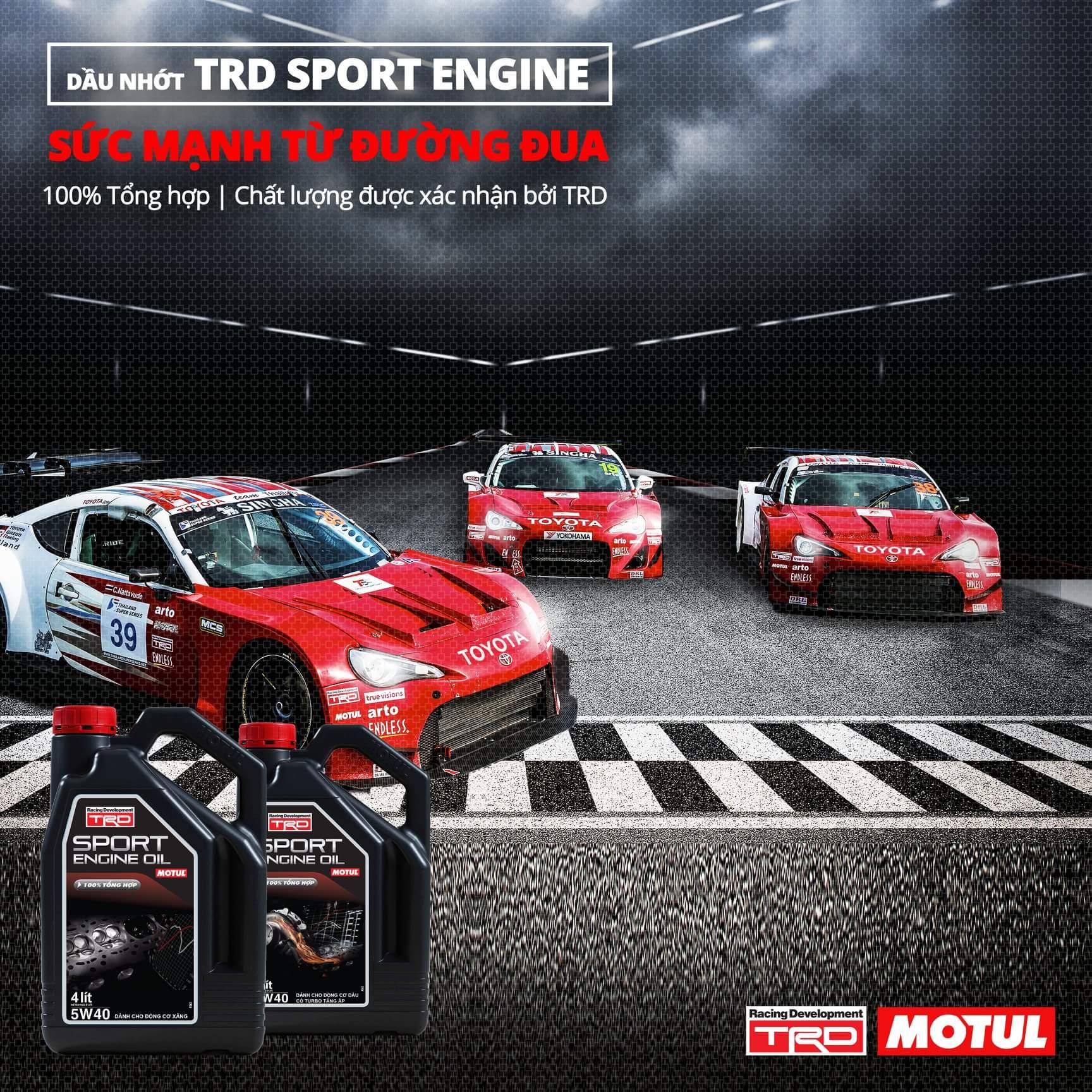 MOTUL TRD SPORT ENGINE 5W40