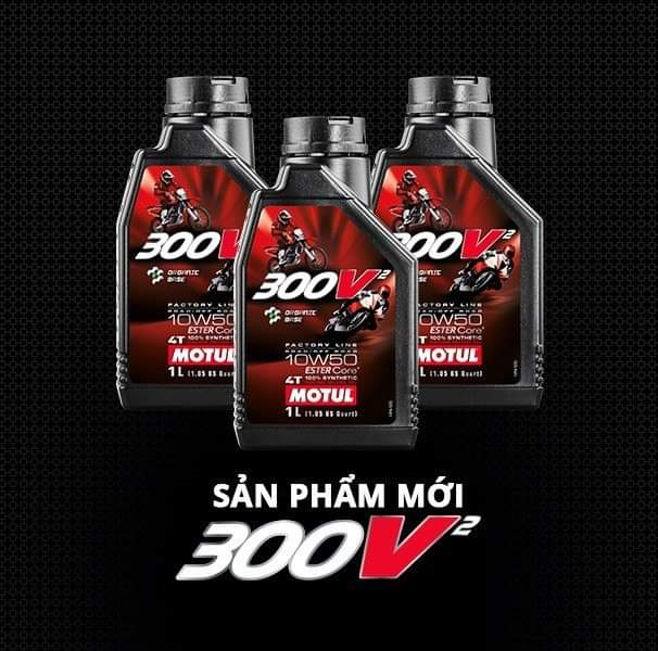 300V² 4T FACTORY LINE 10W50