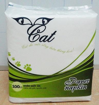 Khăn ăn Cat premiun