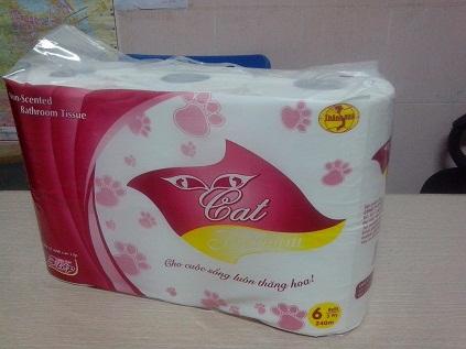 Giấy vệ sinh Cat premium 6 cuộn