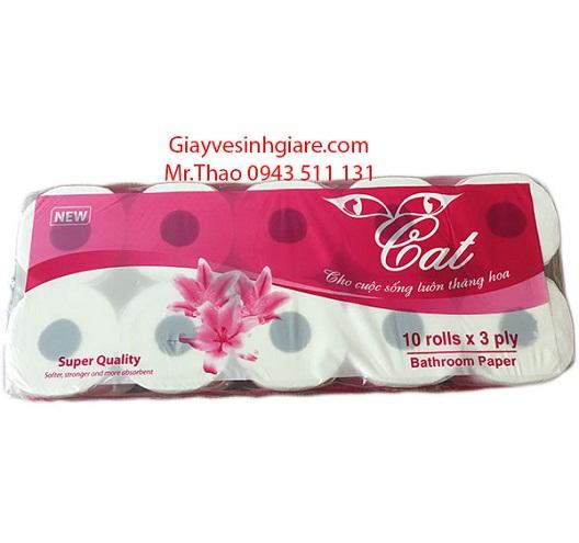 Giấy vệ sinh Cat premium 10 cuộn