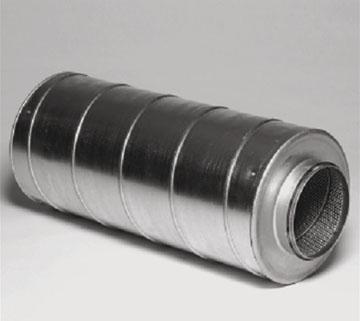 Circular silencers SLL