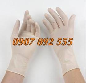 Găng tay phòng sạch Nitril trắng