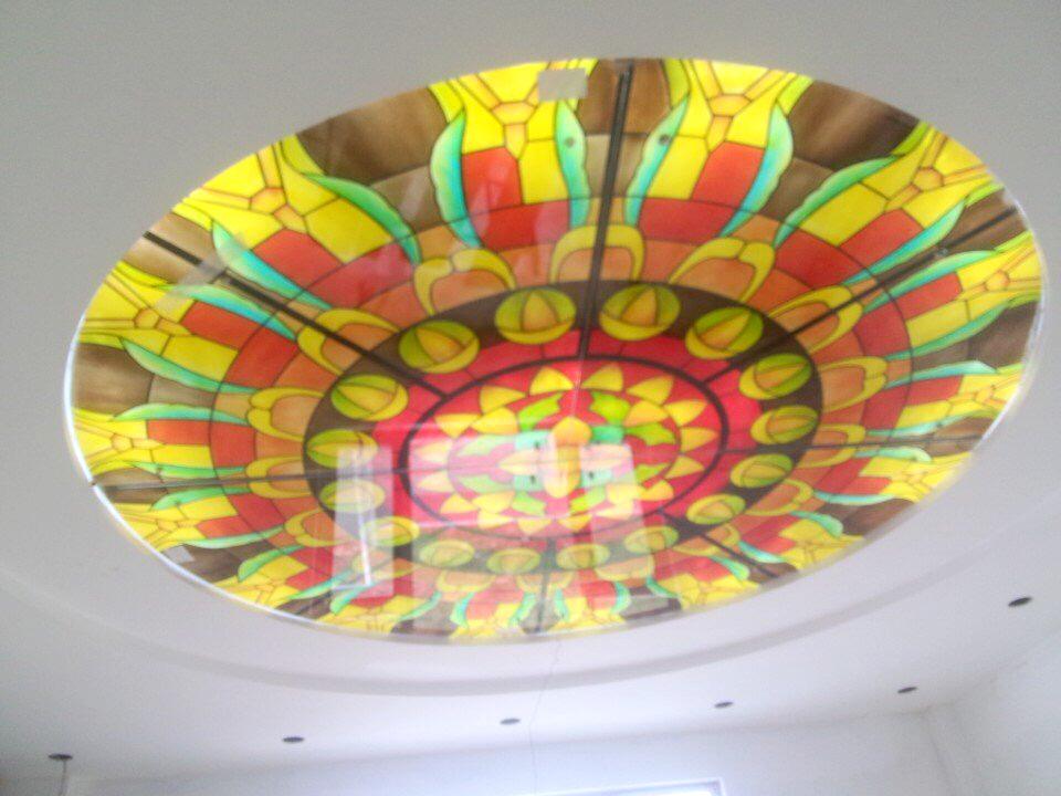 Trần kính nghệ thuật