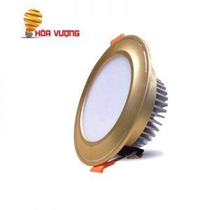 Đèn LED Âm Trần Mặt Cong Vàng 7w