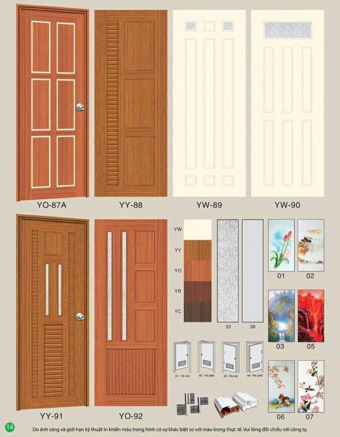 Cửa Nhựa Đài Loan - Y@Door