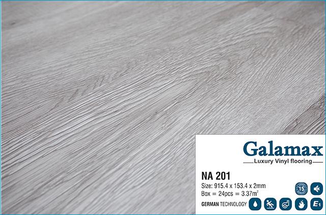 Sàn nhựa Galamax Luxury Vinyl 2mm NA 201