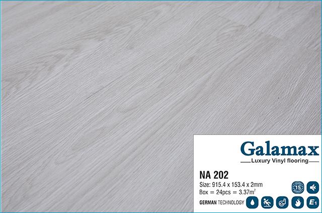 Sàn nhựa Galamax Luxury Vinyl 2mm NA 202