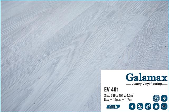 Sàn nhựa Galamax Luxury Vinyl 4.2 mm EV 401