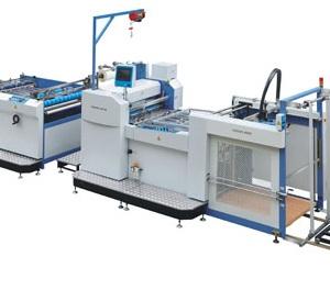 máy cán màng nhiệt tự động cao tốc Model SW-1050G