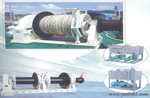 Tời neo thủy lực