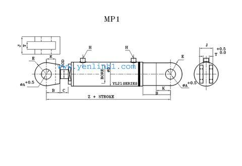 Xi lanh thủy lực MP1