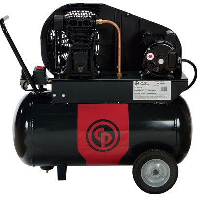 Chicago Pneumatic Portable Electric Air Compressor — 2 HP, 20 Gallon Horizontal, 7.6 CFM, Model# 8090254197