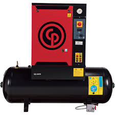 Chicago Pneumatic Quiet Rotary Screw Air Compressor — 5 HP, 230 Volts