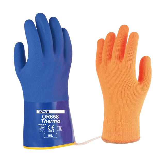 Găng tay công nghiệp chống lạnh PVC