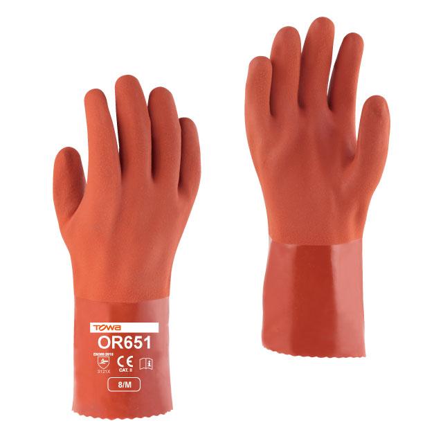 Găng tay chống dầu Towa OR651